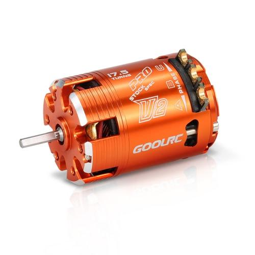 GoolRC 540 17.5T SPEC 2200KV Sensored Brushless Timing Adjustable Motor for 1/10 RC CarToys &amp; Hobbies<br>GoolRC 540 17.5T SPEC 2200KV Sensored Brushless Timing Adjustable Motor for 1/10 RC Car<br>
