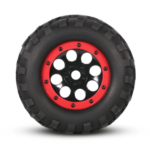 2Pcs AUSTAR AX-3011 155mm 1/8 Monster Truck Tires with Beadlock Wheel Rim for TRAXXAS SUMMIT E-Revo HPI Savage XL Flux HSP RC CarToys &amp; Hobbies<br>2Pcs AUSTAR AX-3011 155mm 1/8 Monster Truck Tires with Beadlock Wheel Rim for TRAXXAS SUMMIT E-Revo HPI Savage XL Flux HSP RC Car<br>