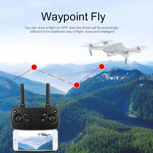GD88 480P Wifi FPV RC Drone Altitude Hold One Key Return Foldable RC Training Quadcopter for Beginner Christmas Gift