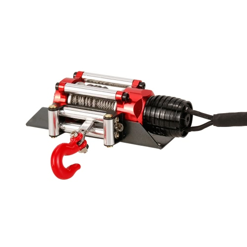 Metal Steel Wired Automatic Simulated Winch with Switch for 1/10 Traxxas HSP Redcat HPI TAMIYA CC01 Axial SCX10 RC4WD D90 RC RockToys &amp; Hobbies<br>Metal Steel Wired Automatic Simulated Winch with Switch for 1/10 Traxxas HSP Redcat HPI TAMIYA CC01 Axial SCX10 RC4WD D90 RC Rock<br>