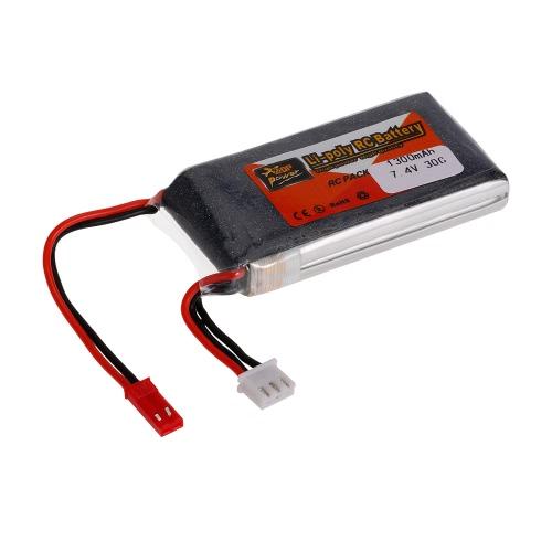 ZOP Power 2S 7.4V 1300mAh 30C LiPo Battery JST PlugToys &amp; Hobbies<br>ZOP Power 2S 7.4V 1300mAh 30C LiPo Battery JST Plug<br>