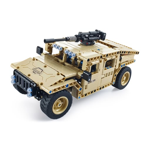 457Pcs Utoghter 69003 2.4G RC Armed Off-road Vehicle Building Blocks Kits Toy Bricks RC Car ModelToys &amp; Hobbies<br>457Pcs Utoghter 69003 2.4G RC Armed Off-road Vehicle Building Blocks Kits Toy Bricks RC Car Model<br>