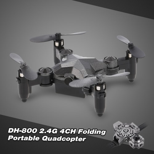 DH-800 2.4G 0.3MP Wifi FPV Mini Camera Drone Height Hold G-sensor Foldable Portable Watch Style Remote Controller QuadcopterToys &amp; Hobbies<br>DH-800 2.4G 0.3MP Wifi FPV Mini Camera Drone Height Hold G-sensor Foldable Portable Watch Style Remote Controller Quadcopter<br>