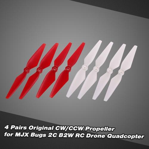 4 Pairs Original CW/CCW Propeller for MJX Bugs B2W 2C RC Drone QuadcopterToys &amp; Hobbies<br>4 Pairs Original CW/CCW Propeller for MJX Bugs B2W 2C RC Drone Quadcopter<br>
