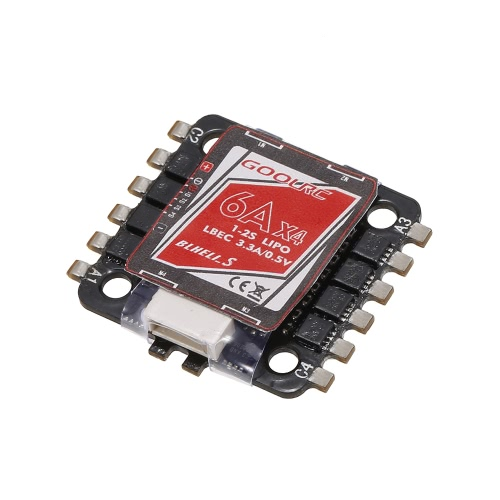 Original GoolRC 4 in 1 6A ESC 1-2S BLHeli_S Oneshot125 Multishot for 80 90 100 Tiny Micro FPV Racing QuadcopterToys &amp; Hobbies<br>Original GoolRC 4 in 1 6A ESC 1-2S BLHeli_S Oneshot125 Multishot for 80 90 100 Tiny Micro FPV Racing Quadcopter<br>
