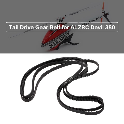 Tail Drive Gear Belt for ALZRC Devil 380 Fast SAB Goblin 380 RC HelicopterToys &amp; Hobbies<br>Tail Drive Gear Belt for ALZRC Devil 380 Fast SAB Goblin 380 RC Helicopter<br>