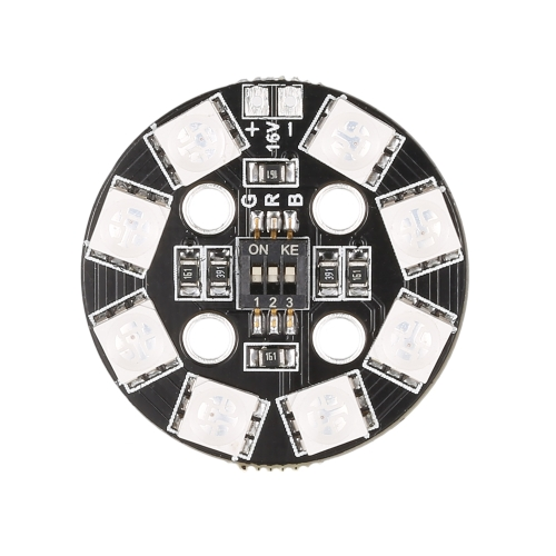 Matek RGB LED Circle Board 7-colors X8 16V For FPV RC Multicopter Quadcopter RC CarToys &amp; Hobbies<br>Matek RGB LED Circle Board 7-colors X8 16V For FPV RC Multicopter Quadcopter RC Car<br>