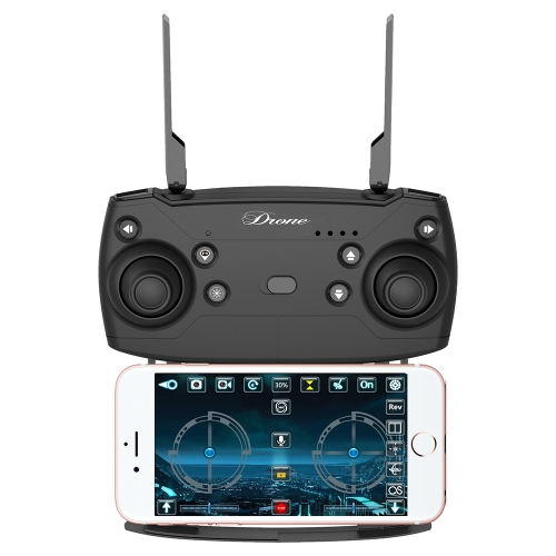 19HW 2.4G Selfie Drone Wifi FPV RC Quadcopter - RTFToys &amp; Hobbies<br>19HW 2.4G Selfie Drone Wifi FPV RC Quadcopter - RTF<br>