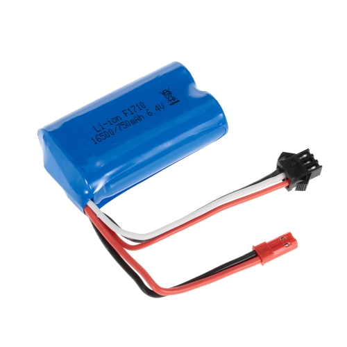 6.4V 750mAh Li-ion Rechargeable Battery for WLtoys A959-A A979-A RC Buggy CarToys &amp; Hobbies<br>6.4V 750mAh Li-ion Rechargeable Battery for WLtoys A959-A A979-A RC Buggy Car<br>