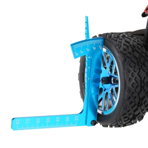 Adjustable Ruler Measure RC car Height &amp; Wheel Rim Camber for 1/10 1/8 On-road RC CarToys &amp; Hobbies<br>Adjustable Ruler Measure RC car Height &amp; Wheel Rim Camber for 1/10 1/8 On-road RC Car<br>