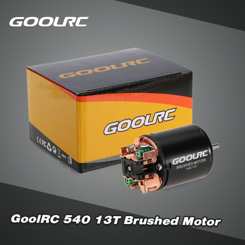 GoolRC 540 13T Brushed Motor for 1/10 Traxxas Ford F-150 RC CarToys &amp; Hobbies<br>GoolRC 540 13T Brushed Motor for 1/10 Traxxas Ford F-150 RC Car<br>