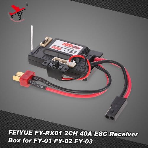 FEIYUE FY-RX01 2CH 40A ESC Receiver Box for 1/12 FY-01 FY-02 FY-03 Rock Crawler RC Car PartsToys &amp; Hobbies<br>FEIYUE FY-RX01 2CH 40A ESC Receiver Box for 1/12 FY-01 FY-02 FY-03 Rock Crawler RC Car Parts<br>