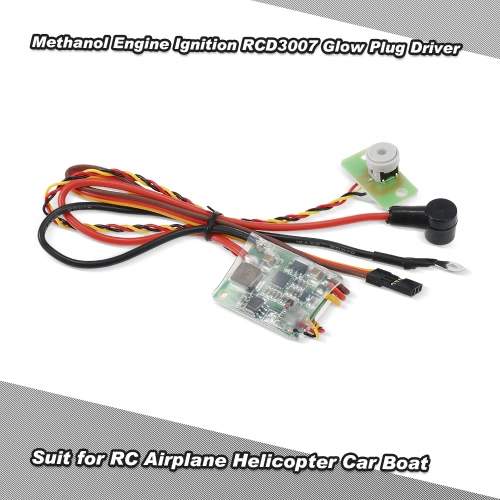 RC Methanol Engine Ignition RCD3007 Remote Heat Head Driver Glow Plug Driver for RC Airplane Helicopter Car BoatToys &amp; Hobbies<br>RC Methanol Engine Ignition RCD3007 Remote Heat Head Driver Glow Plug Driver for RC Airplane Helicopter Car Boat<br>