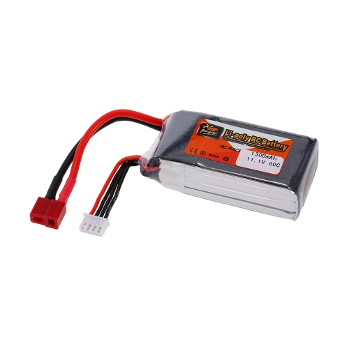 ZOP Power 3S 11.1V 1300mAh 60C High Rate LiPo Battery T PlugToys &amp; Hobbies<br>ZOP Power 3S 11.1V 1300mAh 60C High Rate LiPo Battery T Plug<br>