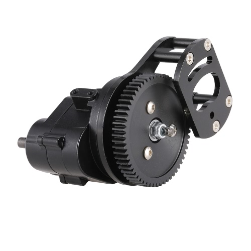 Metal Transmission Case R3 with Motor Gear for 1/10 AXIAL SCX10 AX10 D90 RC CrawlerToys &amp; Hobbies<br>Metal Transmission Case R3 with Motor Gear for 1/10 AXIAL SCX10 AX10 D90 RC Crawler<br>