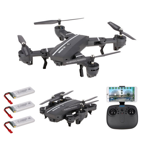 8807W 720P Wide Angle Camera Wifi FPV Foldable Drone 6-Axis Gyro Altitude Hold Headless Mode G-sensor RC Quadcopter with 2 Extra BToys &amp; Hobbies<br>8807W 720P Wide Angle Camera Wifi FPV Foldable Drone 6-Axis Gyro Altitude Hold Headless Mode G-sensor RC Quadcopter with 2 Extra B<br>
