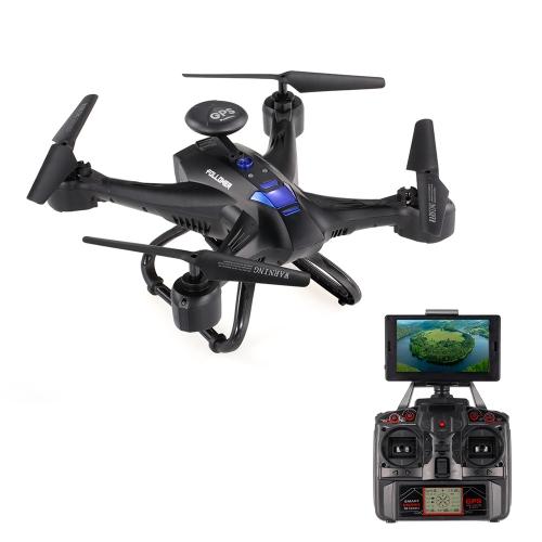 XINLIN X191 5.8G FPV Selfie Drone GPS RC Quadcopter - RTFToys &amp; Hobbies<br>XINLIN X191 5.8G FPV Selfie Drone GPS RC Quadcopter - RTF<br>