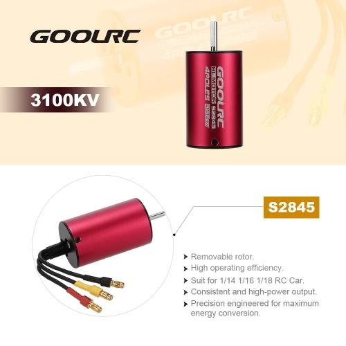 GoolRC S2845 3100KV Sensorless Brushless Motor for 1/18 1/16 1/14 RC CarToys &amp; Hobbies<br>GoolRC S2845 3100KV Sensorless Brushless Motor for 1/18 1/16 1/14 RC Car<br>