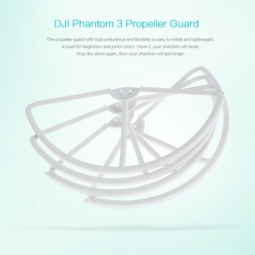 4Pcs Original DJI Phantom 3 Part 2 Removable Propeller Guards/Protectors for DJI Phantom 3 RC FPV QuadcopterToys &amp; Hobbies<br>4Pcs Original DJI Phantom 3 Part 2 Removable Propeller Guards/Protectors for DJI Phantom 3 RC FPV Quadcopter<br>