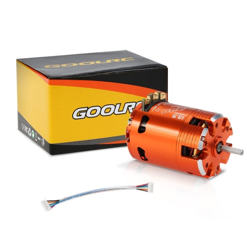 GoolRC 540 13.5T SPEC 3050KV Sensored Brushless Timing Adjustable Motor for 1/10 RC CarToys &amp; Hobbies<br>GoolRC 540 13.5T SPEC 3050KV Sensored Brushless Timing Adjustable Motor for 1/10 RC Car<br>