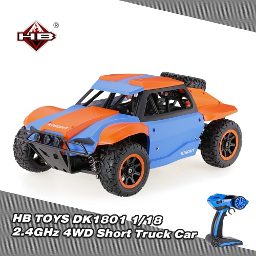 HB TOYS DK1801 1/18 2.4GHz 4WD High Speed Short Truck Off-road Racing Rally Car RTRToys &amp; Hobbies<br>HB TOYS DK1801 1/18 2.4GHz 4WD High Speed Short Truck Off-road Racing Rally Car RTR<br>