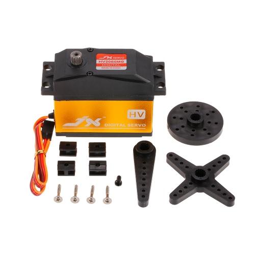 JX PDI-HV2060MG Metal Gear 6.0V-7.4V 0.13sec/60° Digital Servo 62kg Torque Aluminums Case for 1/5 RC CarToys &amp; Hobbies<br>JX PDI-HV2060MG Metal Gear 6.0V-7.4V 0.13sec/60° Digital Servo 62kg Torque Aluminums Case for 1/5 RC Car<br>