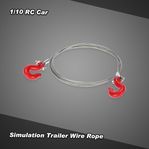 Simulation Trailer Wire Rope for 1/10 D90 Axial SCX10 RC CarToys &amp; Hobbies<br>Simulation Trailer Wire Rope for 1/10 D90 Axial SCX10 RC Car<br>