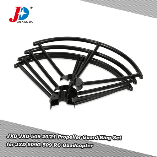 Original JXD JXD-509-20/21 Left and Right Propeller Guard Ring Set for JXD 509G 509 RC QuadcopterToys &amp; Hobbies<br>Original JXD JXD-509-20/21 Left and Right Propeller Guard Ring Set for JXD 509G 509 RC Quadcopter<br>
