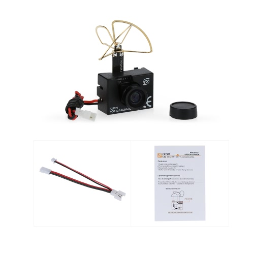Original FX FX797T 5.8G 25mW 40CH Mini Transmitter with 600TVL NTSC Camera Combo Set for FPV RC QuadcopterToys &amp; Hobbies<br>Original FX FX797T 5.8G 25mW 40CH Mini Transmitter with 600TVL NTSC Camera Combo Set for FPV RC Quadcopter<br>