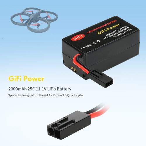 GiFi Power 2300mAh 25C 11.1V LiPo Battery for Parrot AR.Drone 2.0 QuadcopterToys &amp; Hobbies<br>GiFi Power 2300mAh 25C 11.1V LiPo Battery for Parrot AR.Drone 2.0 Quadcopter<br>