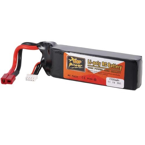 ZOP Power 11.1V 3S 2200mAh 30C Li-po Battery T PlugToys &amp; Hobbies<br>ZOP Power 11.1V 3S 2200mAh 30C Li-po Battery T Plug<br>
