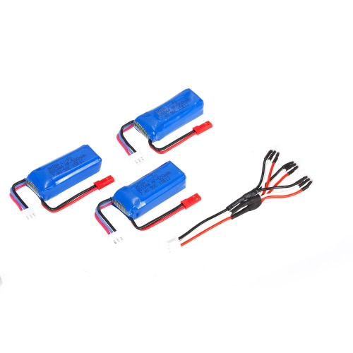 3pcs 7.4V 500mAh 50C Lipo Battery with JST Plug for EMAX Babyhawk Armor 67 XF90 Quadcopter 70-120mm Racing DroneToys &amp; Hobbies<br>3pcs 7.4V 500mAh 50C Lipo Battery with JST Plug for EMAX Babyhawk Armor 67 XF90 Quadcopter 70-120mm Racing Drone<br>