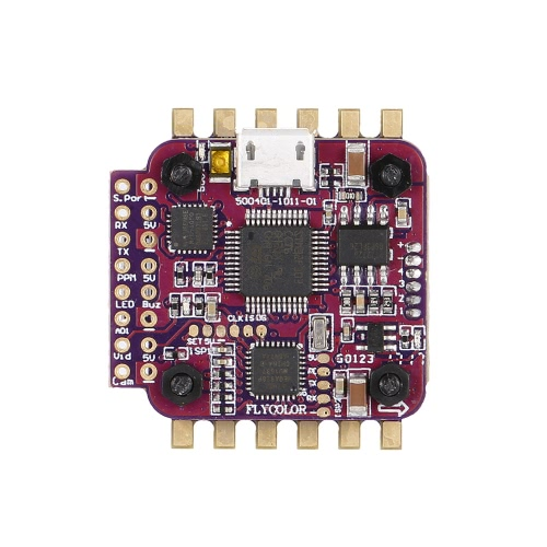GoolRC 4 in 1 12A ESC F3 Tower Flight Controller Combo and D1104 7500KV Brushless Motor for 80 90 100 Micro FPV Quadcopter