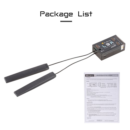 Original FrSky L9R 12CH SBUS PWM 2.4G High Gain Long Range Receiver for 250 FPV Racing Drone RC Helicopter Airplane X9D PlusToys &amp; Hobbies<br>Original FrSky L9R 12CH SBUS PWM 2.4G High Gain Long Range Receiver for 250 FPV Racing Drone RC Helicopter Airplane X9D Plus<br>