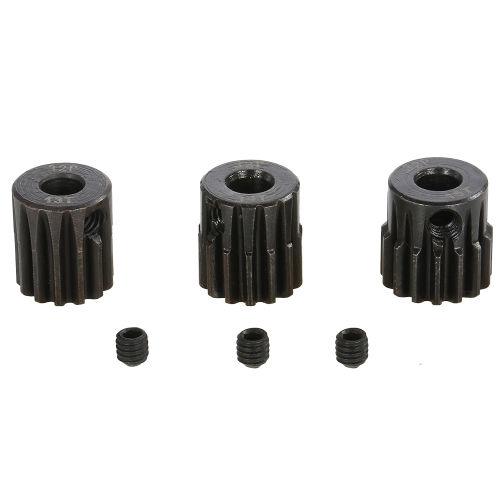 SURPASS HOBBY 32P 13 14 15T Metal Pinion Motor Gear for 1/10 1/8 RC Buggy Car Monster TruckToys &amp; Hobbies<br>SURPASS HOBBY 32P 13 14 15T Metal Pinion Motor Gear for 1/10 1/8 RC Buggy Car Monster Truck<br>