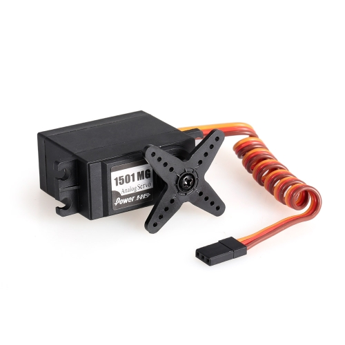 Power HD HD-1501MG High Torque 17Kg Analog Servo with Metal Gear for 1/10 RC Off-road Car Robot HelicopterToys &amp; Hobbies<br>Power HD HD-1501MG High Torque 17Kg Analog Servo with Metal Gear for 1/10 RC Off-road Car Robot Helicopter<br>