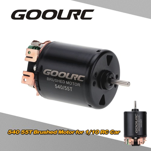 GoolRC 540/55T Brushed Motor for 1/10 RC CarToys &amp; Hobbies<br>GoolRC 540/55T Brushed Motor for 1/10 RC Car<br>