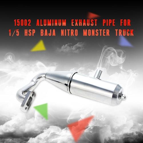 15002 Aluminum Exhaust Pipe for 1/5 HSP Baja Nitro Monster TruckToys &amp; Hobbies<br>15002 Aluminum Exhaust Pipe for 1/5 HSP Baja Nitro Monster Truck<br>
