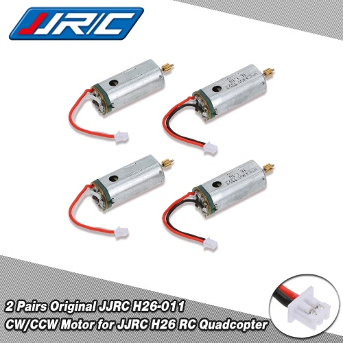 2 Pairs Original JJRC H26-011 CW/CCW Motor for JJRC H26 RC QuadcopterToys &amp; Hobbies<br>2 Pairs Original JJRC H26-011 CW/CCW Motor for JJRC H26 RC Quadcopter<br>