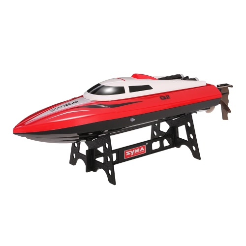 Original Syma Q2 Genius 2.4G 2CH Remote Control 180° Flip High Speed Electric RC Boat Kids GiftsToys &amp; Hobbies<br>Original Syma Q2 Genius 2.4G 2CH Remote Control 180° Flip High Speed Electric RC Boat Kids Gifts<br>