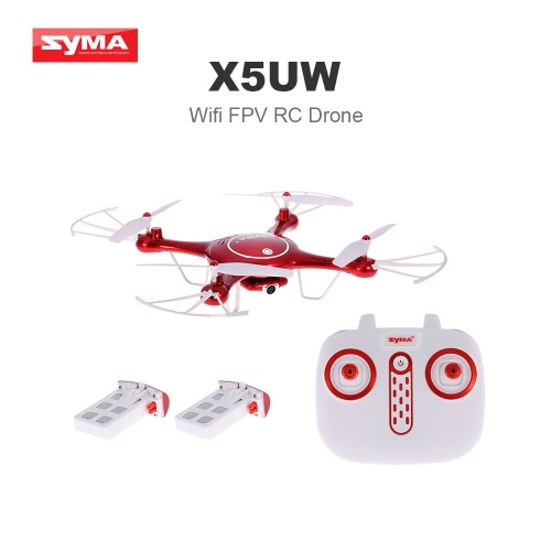 Original Syma X5UW Wifi FPV Quadcopter 720P HD Camera RC Drone with Two Battery RTFToys &amp; Hobbies<br>Original Syma X5UW Wifi FPV Quadcopter 720P HD Camera RC Drone with Two Battery RTF<br>