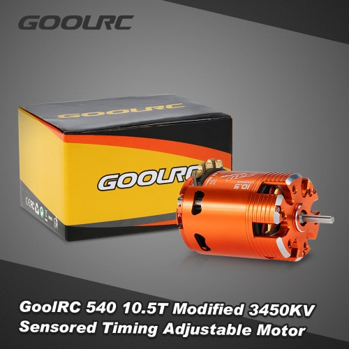 GoolRC 540 10.5T Modified 3450KV Sensored Brushless Timing Adjustable Motor for 1/10 RC CarToys &amp; Hobbies<br>GoolRC 540 10.5T Modified 3450KV Sensored Brushless Timing Adjustable Motor for 1/10 RC Car<br>