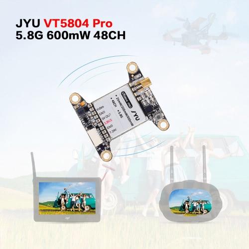 JYU VT5804 Pro 25mW 200mW 600mW Switchable 5.8G 48CH Raceband Image Transmitter for QAV250 H210 FPV Racing Quadcopter KISS FCToys &amp; Hobbies<br>JYU VT5804 Pro 25mW 200mW 600mW Switchable 5.8G 48CH Raceband Image Transmitter for QAV250 H210 FPV Racing Quadcopter KISS FC<br>