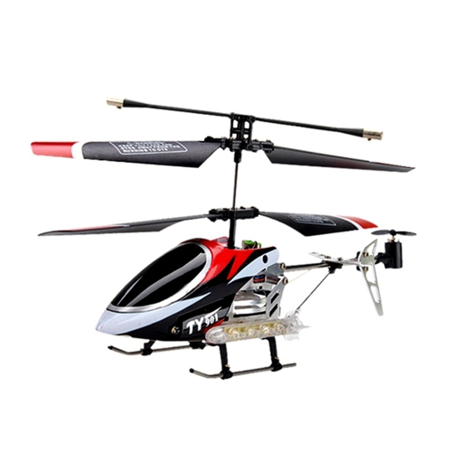 Flytec TY901 3.5CH Metal RC Helicopter with Gyroscope for Kids Toys Children Gift