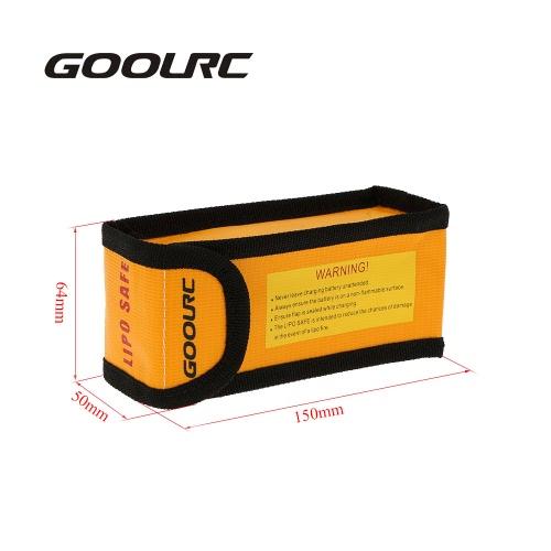 GoolRC 15 * 6.4 * 5cm Golden High Quality Glass Fiber RC LiPo Battery Safety Bag Safe Guard Charge SackToys &amp; Hobbies<br>GoolRC 15 * 6.4 * 5cm Golden High Quality Glass Fiber RC LiPo Battery Safety Bag Safe Guard Charge Sack<br>