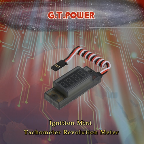 G.T.POWER Ignition Mini Tachometer Revolution Meter for RC CDI Petrol Gas EngineToys &amp; Hobbies<br>G.T.POWER Ignition Mini Tachometer Revolution Meter for RC CDI Petrol Gas Engine<br>