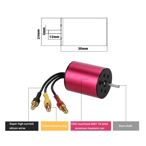 GoolRC S2430 5800KV Sensorless Brushless Motor for 1/18 1/16 RC CarToys &amp; Hobbies<br>GoolRC S2430 5800KV Sensorless Brushless Motor for 1/18 1/16 RC Car<br>
