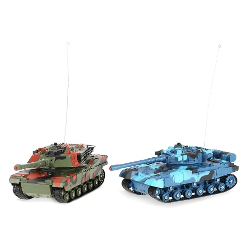 CRAZON 333-TK11A 1/24 Scale Two Infrared Remote Control Battle Tank Toys for KidsToys &amp; Hobbies<br>CRAZON 333-TK11A 1/24 Scale Two Infrared Remote Control Battle Tank Toys for Kids<br>