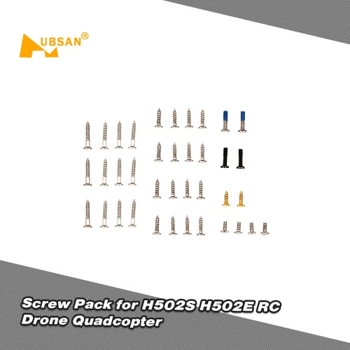 Original Hubsan Spare Parts Screw Pack Kit for H502S H502E RC Drone QuadcopterToys &amp; Hobbies<br>Original Hubsan Spare Parts Screw Pack Kit for H502S H502E RC Drone Quadcopter<br>