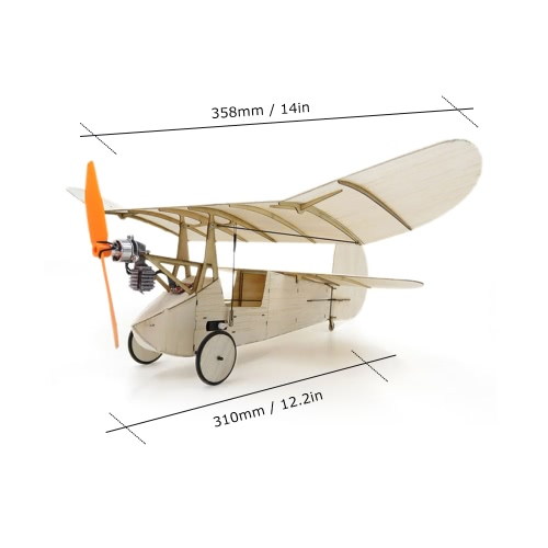 Newton Flea Balsa Wood 358mm Wingspan Plane Warbird Aircraft Model Light Wood Airplane KitToys &amp; Hobbies<br>Newton Flea Balsa Wood 358mm Wingspan Plane Warbird Aircraft Model Light Wood Airplane Kit<br>